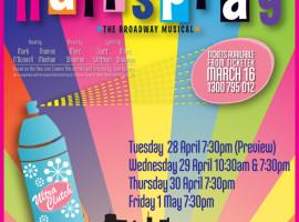 Hairspray web poster