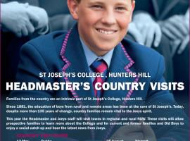 Headmaster country visits