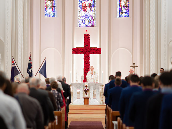 mass in chapel