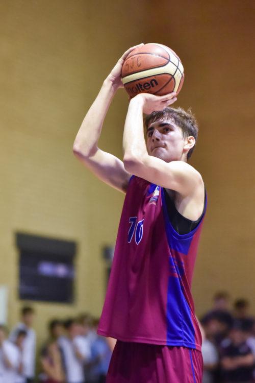 Joeys boy playing basketball