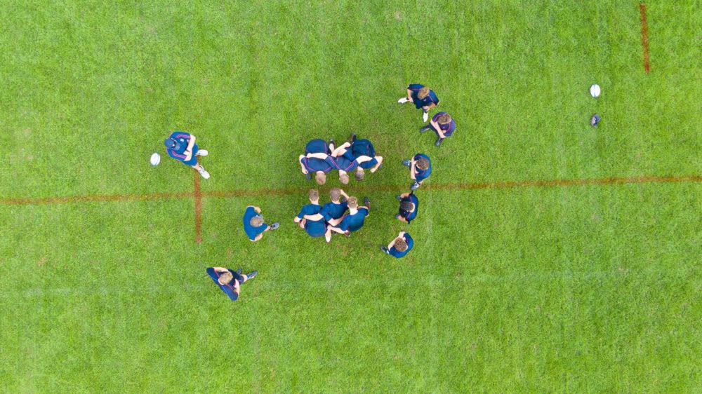 Joeys boys rugby training