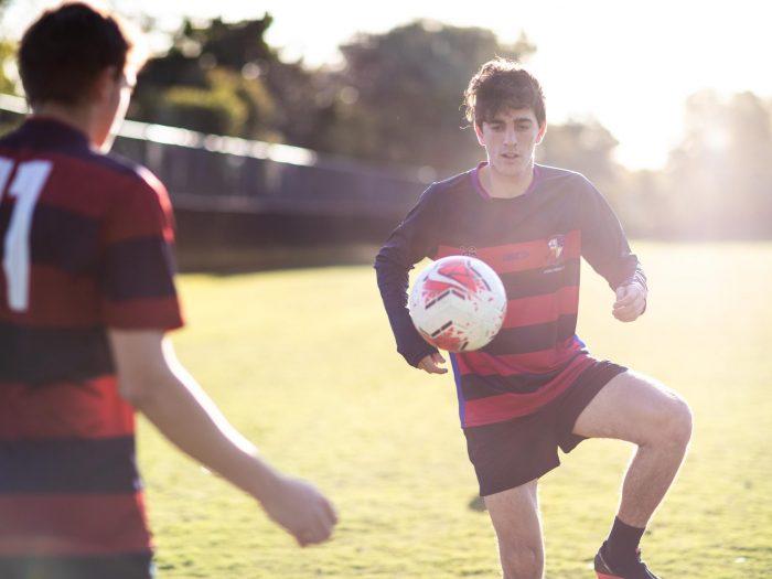 Joeys boys soccer training